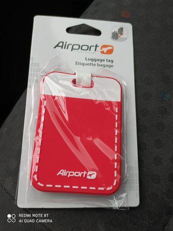Vende-se etiquetas e cadeado de malas de viagem (Novos por abrir)