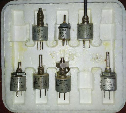 Резисторы переменные СП4-1.РЭС 47.