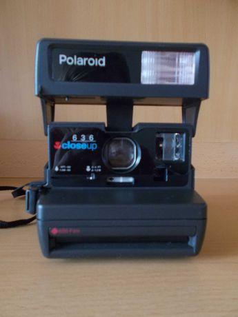 Aparat Polaroid 636 z dokumentacją
