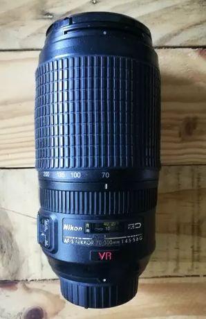 Nikon AFS ED VR 70-300mm (FOCO MANUAL)