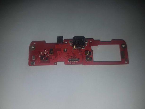 Разъем зарядки с нижней платой для HTC Desire 600 (разборка)