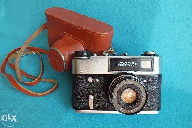 Kolekcjonerski stary aparat Fed 5B Super LEGENDA z dawnej CCCP Sprawny