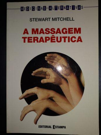 Livro A massagem terapêutica