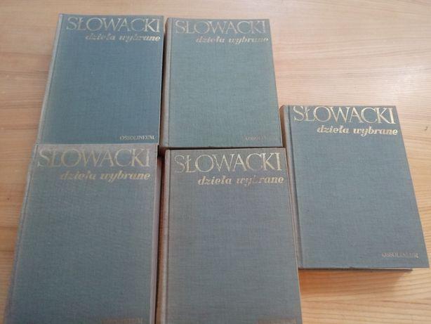 Juliusz Słowacki, Dzieła wybrane, 5 tomów