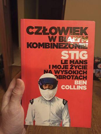 """Ben Collins """"Człowiek w białym kombinezonie"""" STIG"""