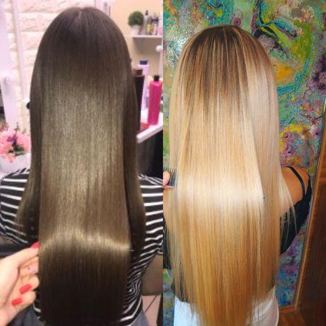 Кератиновое выпрямление волос! Приятные цены! Качество!