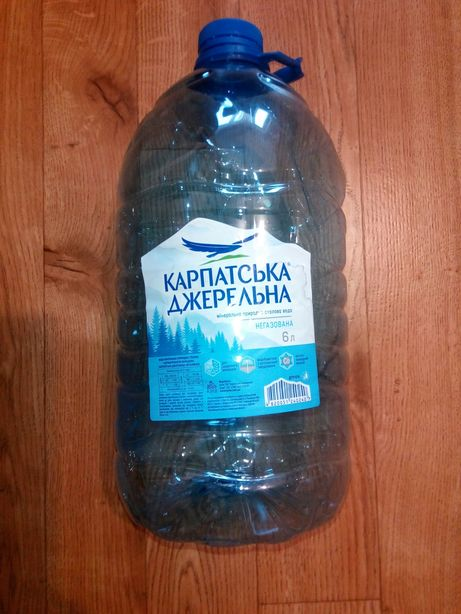 Канистры 6 л из под воды