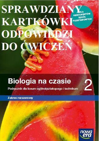 Biologia na czasie 2 zak rozszerz Sprawdziany, kartkówki, odpowi do ćw