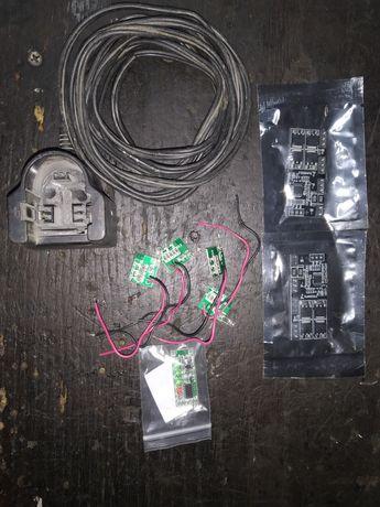 Плата заряда/разряда, датчик АКБ li-ion перепаковка,гнездо АКБ бош