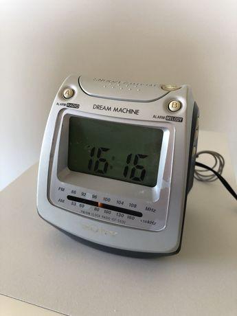 Relógio despertador Sony