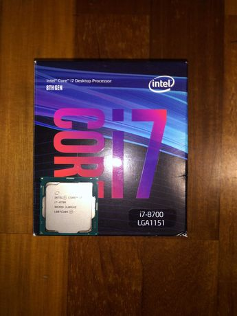 Processador: Processador Intel Core i7 8700 6-Core (3.2GHz-4.6GHz)