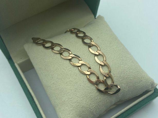 Złota bransoletka PANCERKA 8,66g 333 18,5cm LOM95