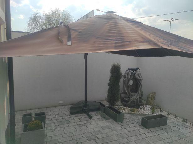 Parasol ogrodowy 3m x 4m