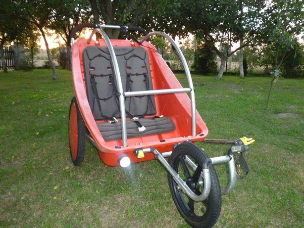 Sprzedam Wózek - Riksze Dla Dwoje Dzieci Do Roweru...