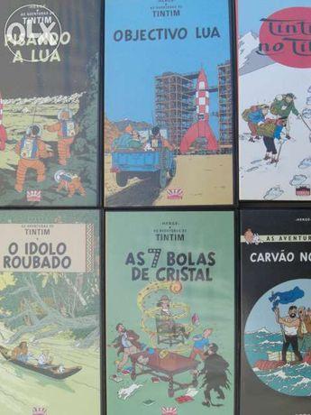 Vendo coleção vhs do tintim 22 cassetes