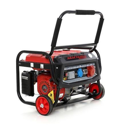 Agregat prądotwórczy generator prądu 7KM 12/230/380V 3000W +AVR +OLEJ