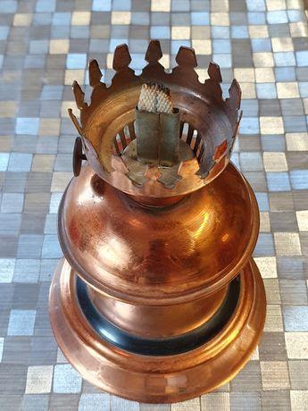 Lampa Naftowa  Miedziana