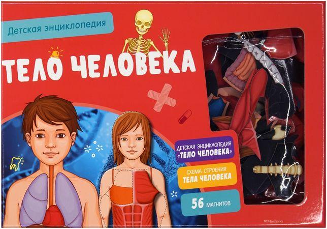 Тело человека. Детская энциклопедия в коробке