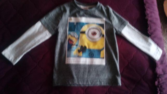 Новая футболка,кофта с длинным рукавом на мальчика
