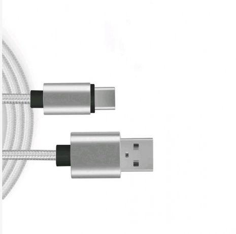 Cabo Nylon Micro USB com 2 metros
