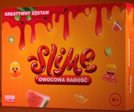 Zestaw kreatywny Slime Owocowa Radość ~na prezent ! #Polskiprodukt 6+