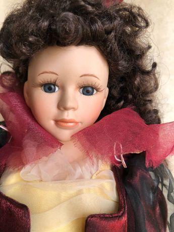Кукла Eva Gartner 42 см современная фарфоровая Венгрия