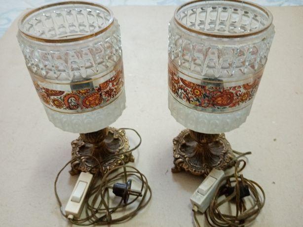 Candeeiros de mesa de cabeceira - antigos