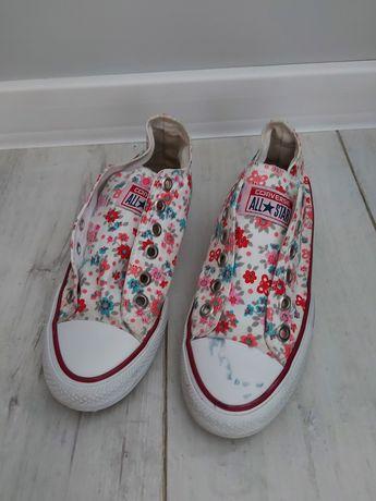 Trampki Converse w kwiaty