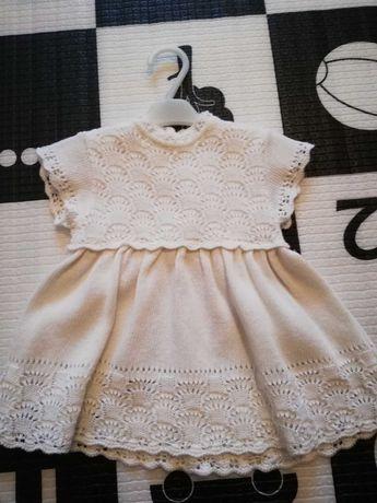 Biała sukienka rozmiar 62