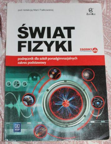"""Podręcznik ''Świat fizyki""""- 1 liceum- WSIP"""