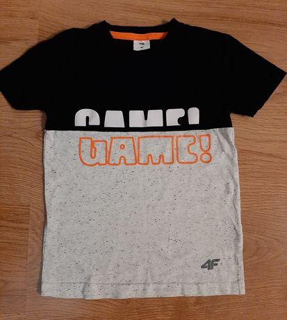 Koszulka chłopięcą 4F r. 116