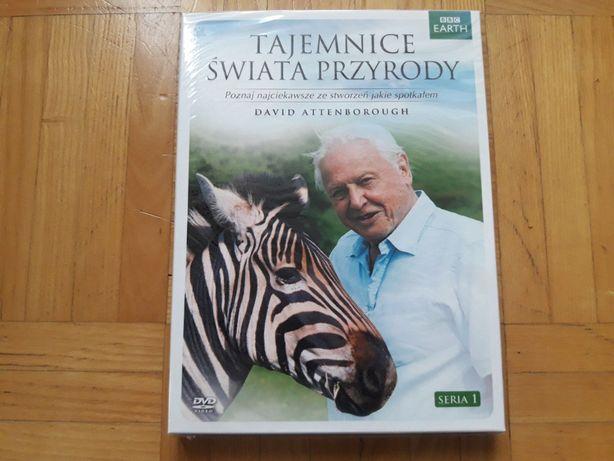 Tajemnice Świata Przyrody Film DVD BBC Nowa David Attenborough lektor