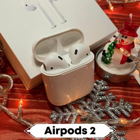 Airpods 2 Lux Ко пи 2021 Года+Чехол Лучший аналог на Рынке Абсолютно!!