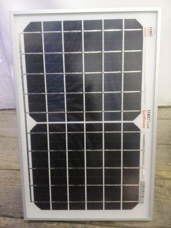 Солнечная Панель Батарея 10 Вт 6 Вольт