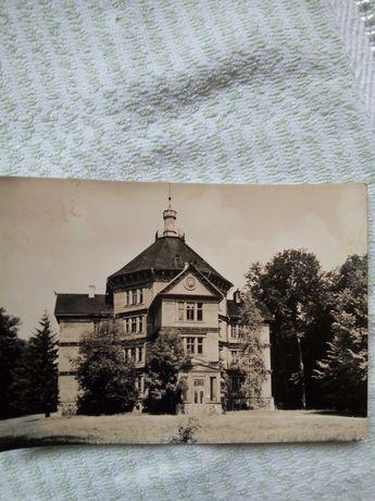 Widokówka Pałac Myśliwski 1971 rok