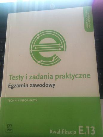 Technik informatyk testy i zadania praktyczne E.13