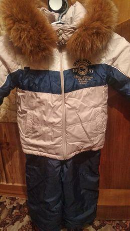 Продам очень теплый и красивый зимний костюм размер 86, 92, 98
