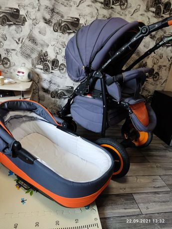 Дитяча коляска-трансформер Adamex Enduro