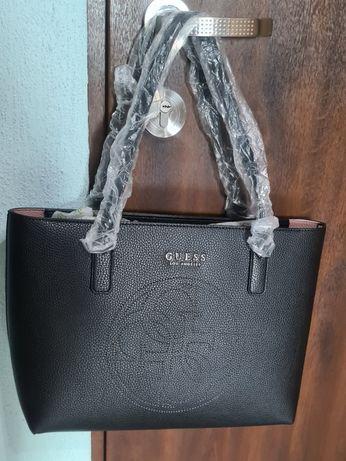 Nowa torebka szoper guess czarna oryginalna pojemna