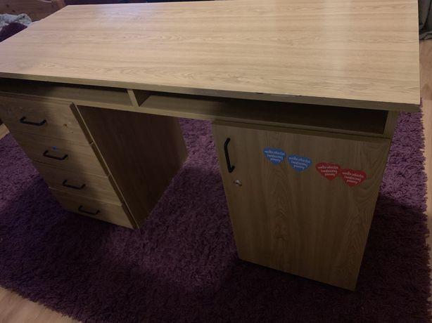 Duze biurko