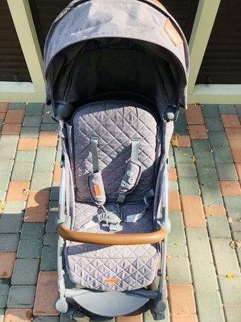 Прогулочная коляска Quatro Rio серая