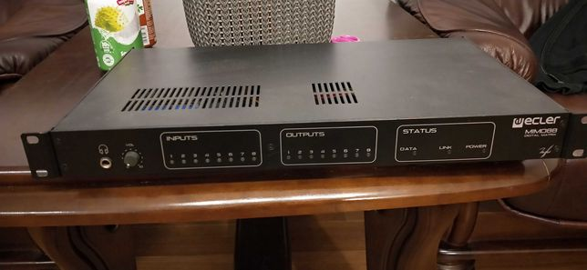 Matryca audio mikser audio Ecler MIMO88 o wartości £1,863