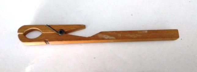 Pinça/ Mola de Madeira para tubos de ensaio_ 18 Cm