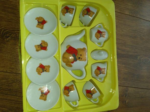 Porcelanowy serwis do herbaty elefun toys