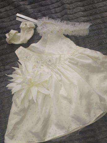 Платье детское 0 до 4 месяца,56-62 см