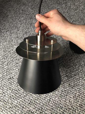 Nowa lampa sufitowa dzwon metal mosiądz gwint E27 wisząca