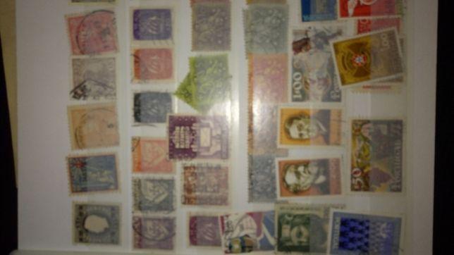 Coleção selos antigos