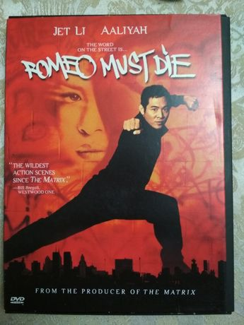 dvd Romeo Must Die Jet Li Ffliyan на англ языке и французском лицензио
