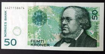 Норвегия 50 Крон.Пресс