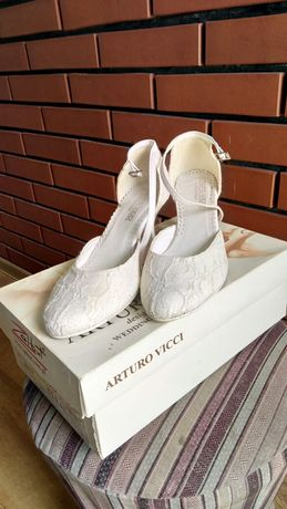 Buty buty szpilki ślubne